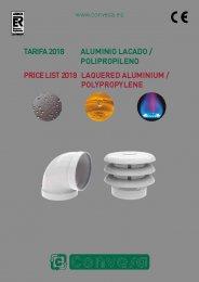 CONVESA 2018 Aluminio y Polipropileno